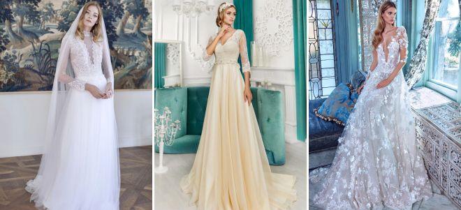 свадебные платья модные тенденции