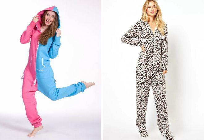 f11287b57f59d Прикольная женская пижама – с шортами и комбинезон, шелковая и ...