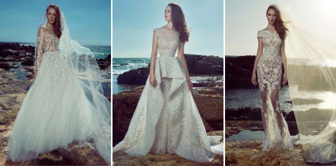 لباس عروسی zuhair murad 2017