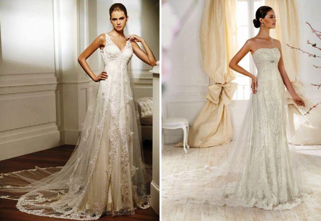 красивые греческие свадебные платья
