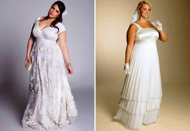 белые свадебные платья в греческом стиле
