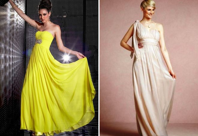цвета греческого свадебного платья