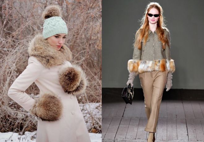 36bc481b14e1 Шубы - мода 2016-2017. Модные меховые шапки и аксессуары
