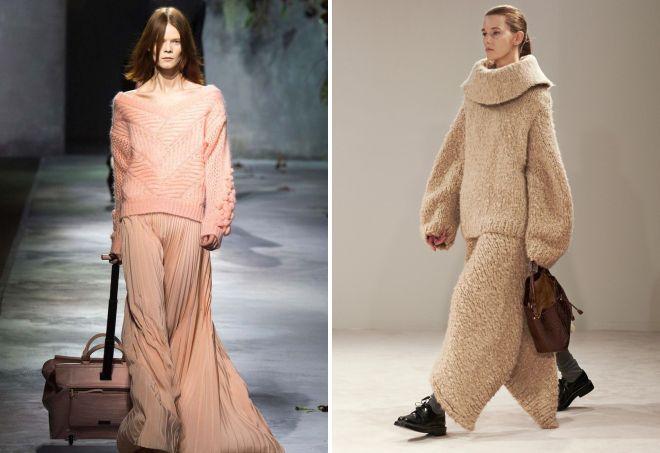 стильные вязаные свитера