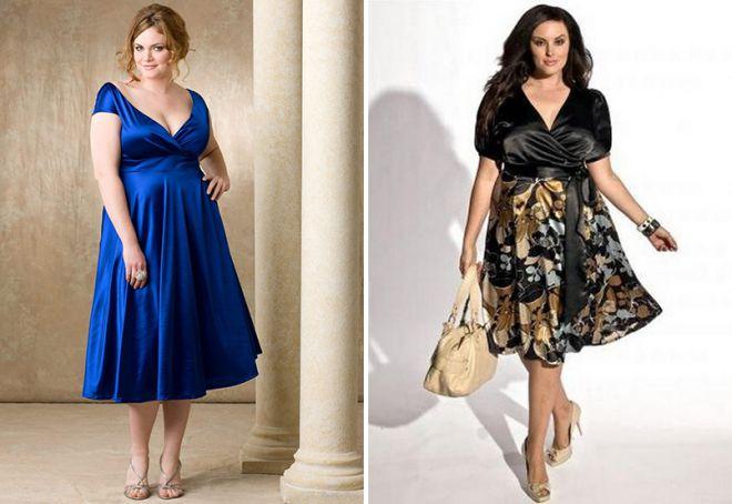нарядная одежда для полных женщин