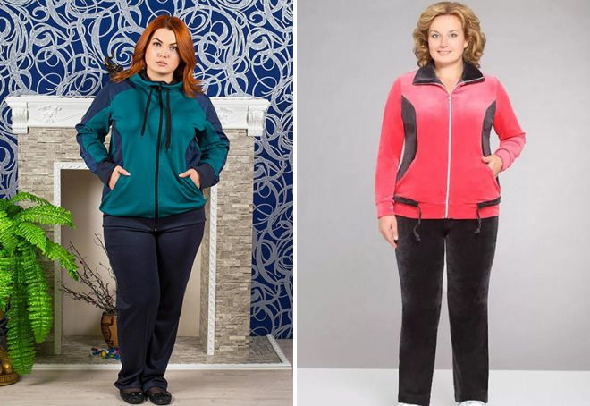 спортивная одежда для полных женщин