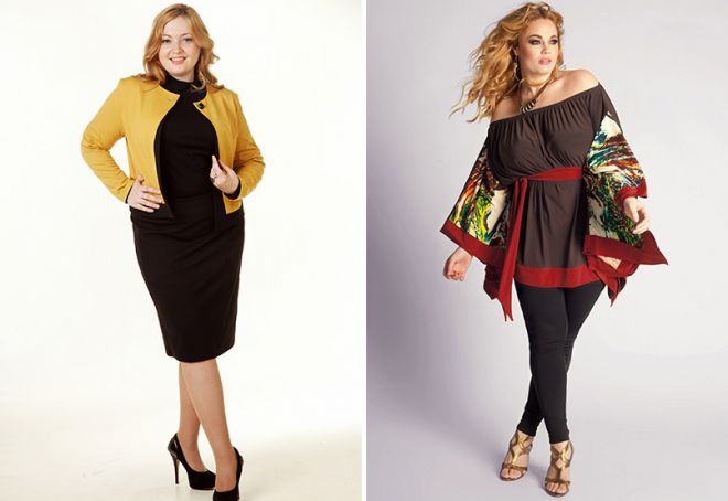 99b0b61e0c8 Модная и стильная одежда для полных женщин – летняя, зимняя и ...