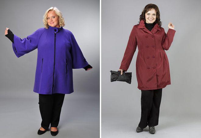 верхняя одежда для полных женщин