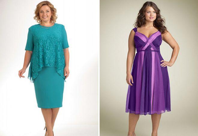 летняя одежда для полных женщин