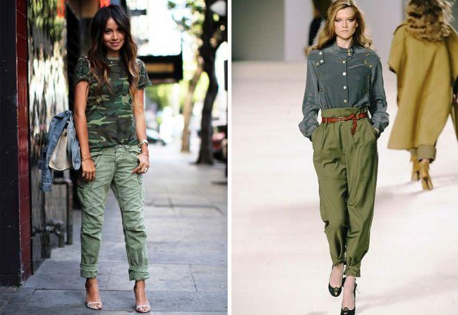 261c691a1bb6 Одежда милитари. Стиль милитари в женской одежде. Женская одежда ...