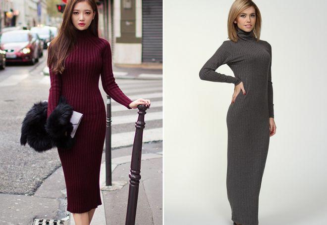 платье лапша короткое миди и ниже колена с чем носить