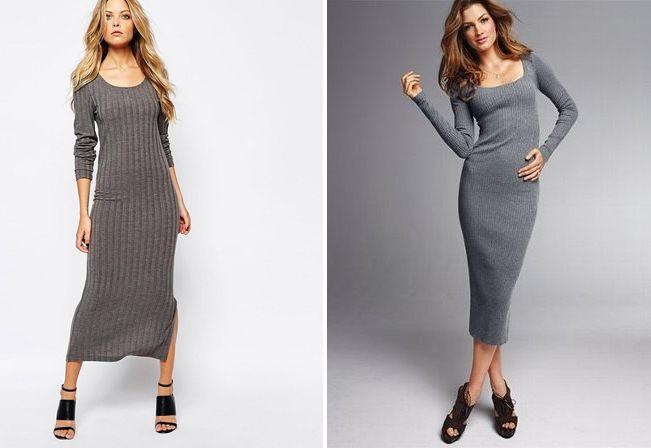0266b94c1af1158 Платье лапша короткое, миди и ниже колена с чем носить?