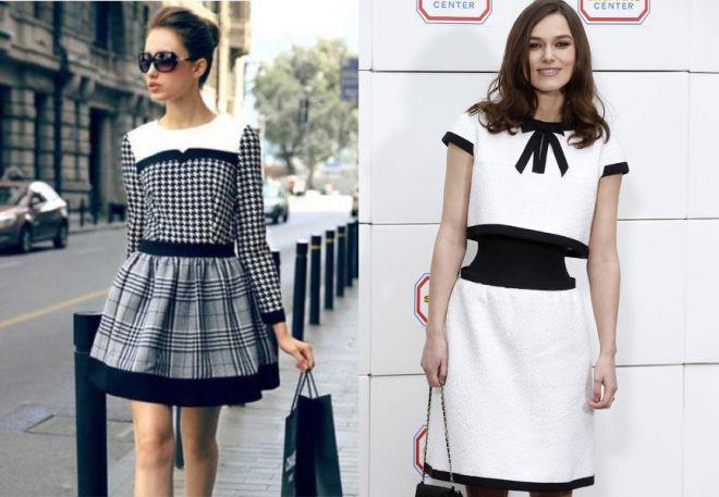 платье шанель 5