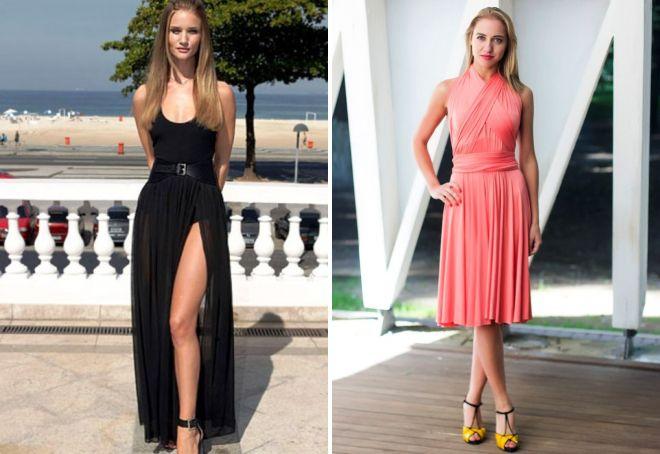 модное платье-трансформер