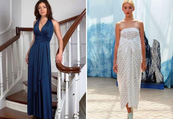 греческое платье-трансформер