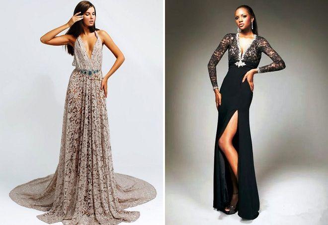 платье-трансформер в пол