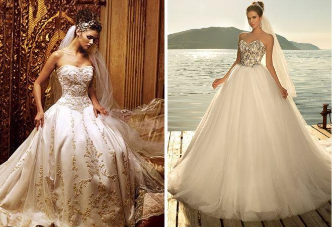 пышные свадебные платья 10