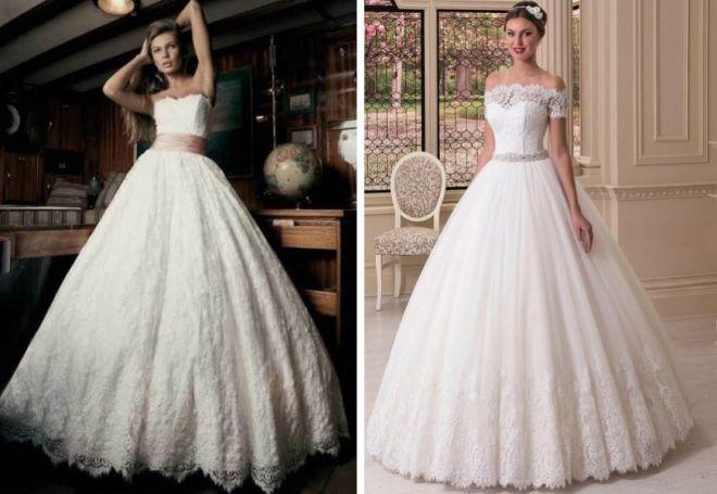 пышные свадебные платья 11