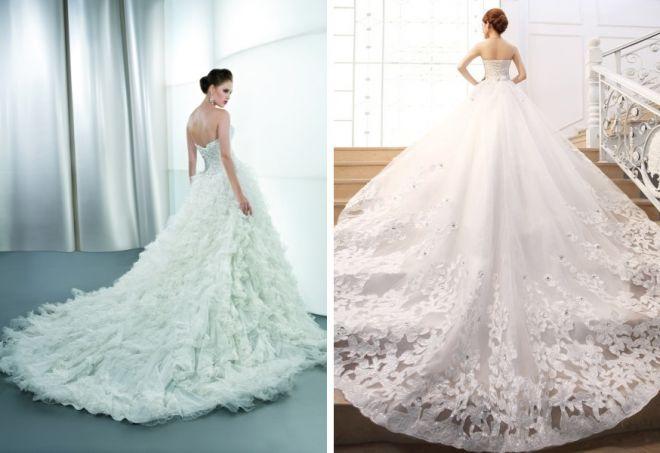 пышные свадебные платья 12
