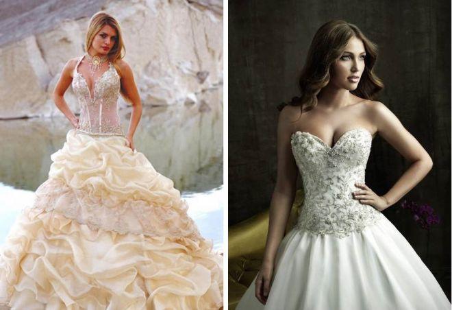 пышные свадебные платья 13