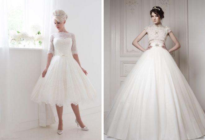 пышные свадебные платья 14