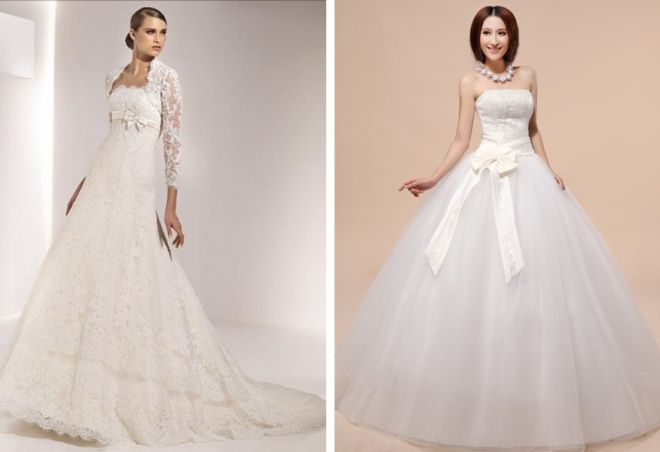 пышные свадебные платья 9