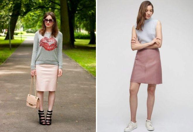 лук с розовой юбкой
