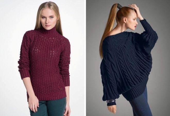 c637d928656d Женский теплый шерстяной свитер с горлом и без, с принтом или узором