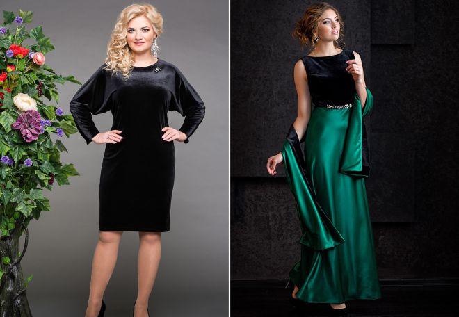 74c8725691e стильные вечерние платья 2017 нарядные бархатные и кружевные модели