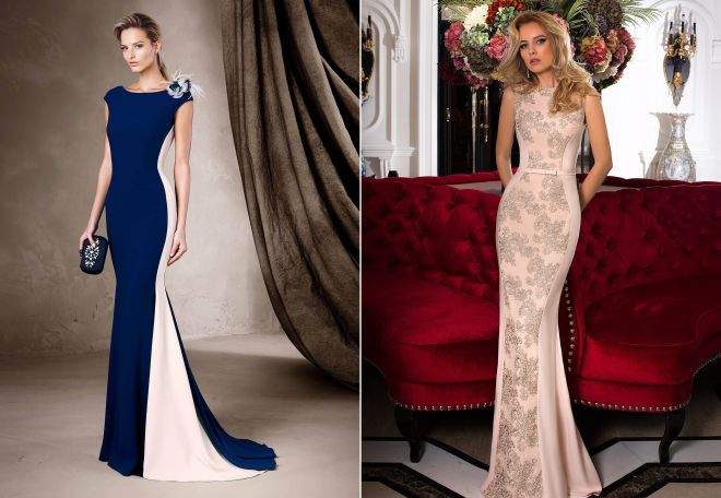 b06e35bd1818 Стильные вечерние платья 2017 – нарядные, бархатные и кружевные модели