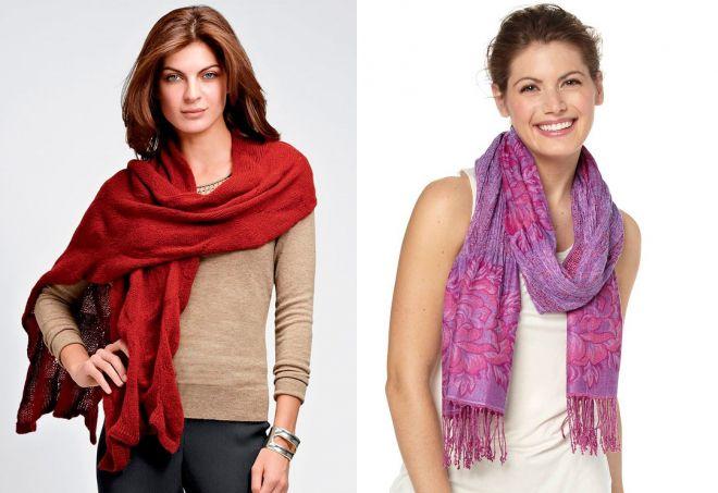 женские шарфы 1