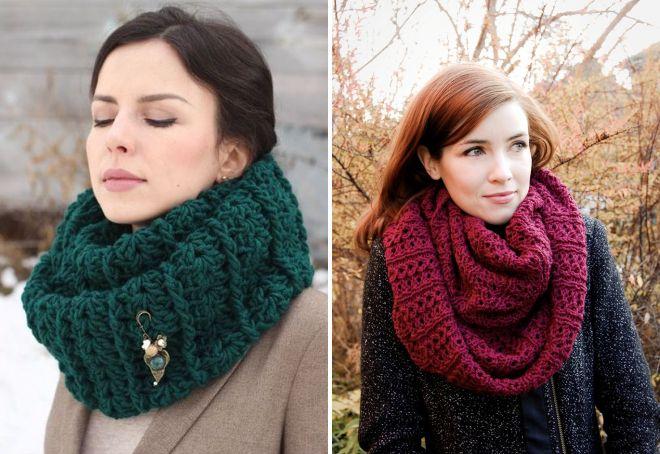 женские шарфы 10