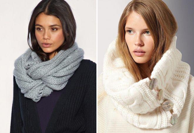 женские шарфы 11