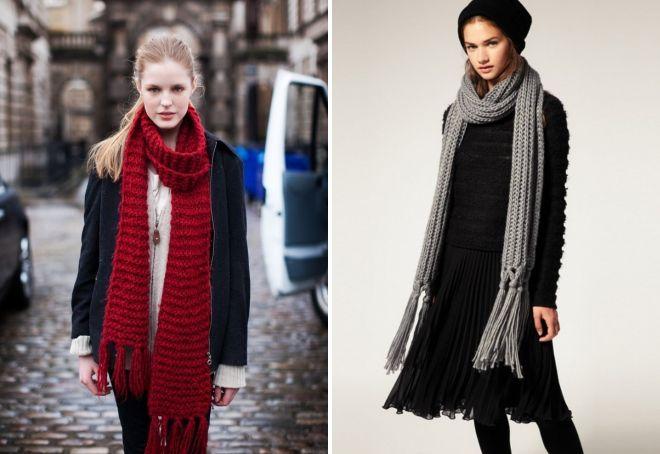 женские шарфы 14