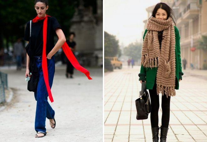 женские шарфы 15
