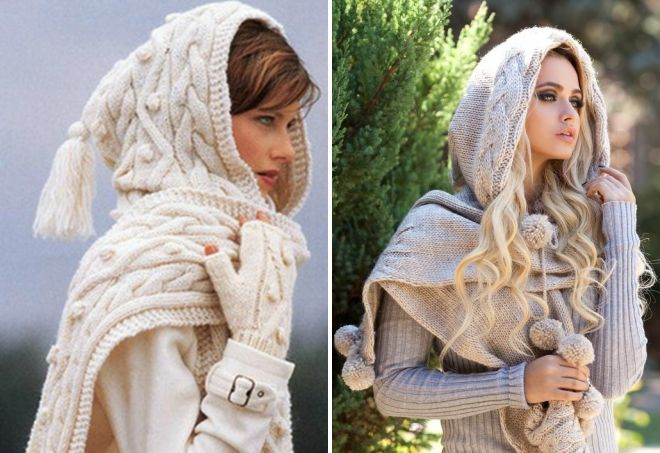 женские шарфы 16