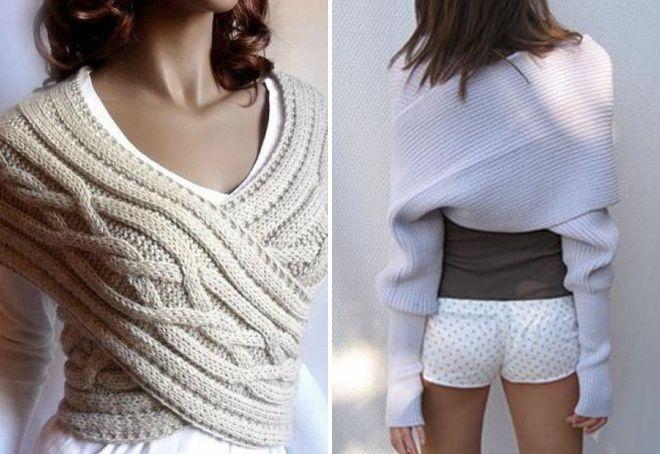 женские шарфы 17