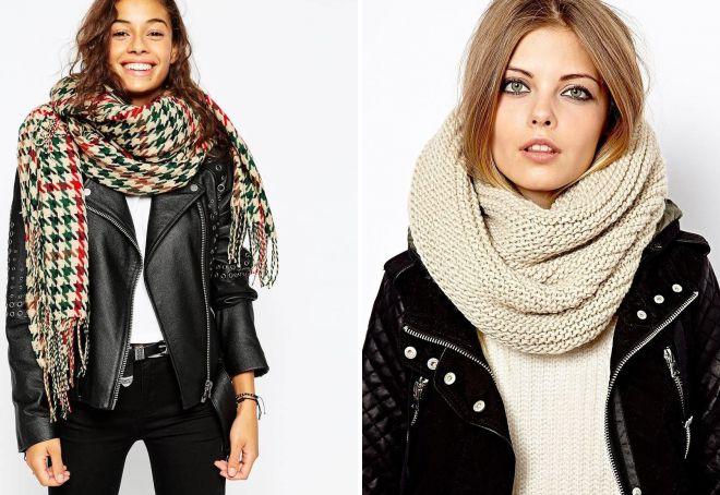 женские шарфы 2