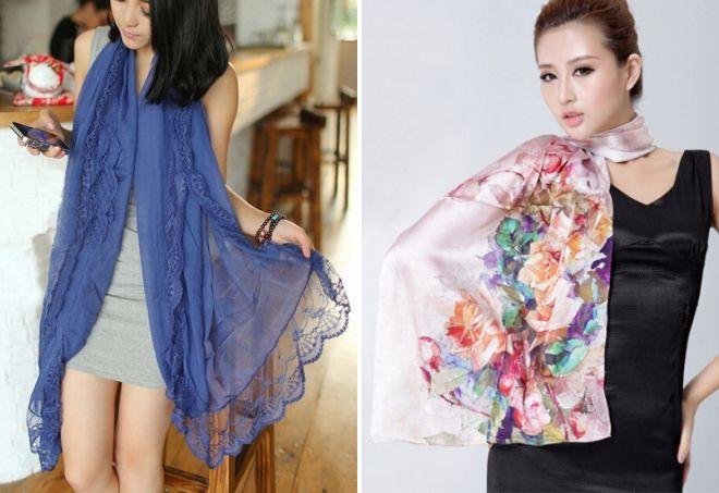 женские шарфы 20