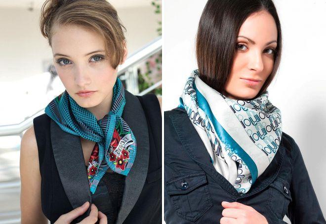 женские шарфы 22