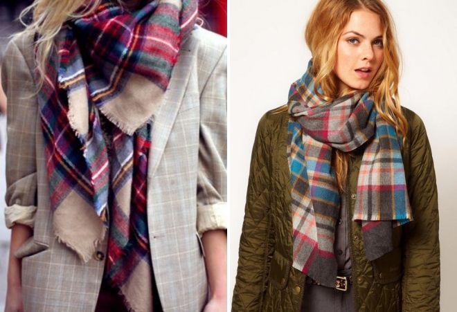женские шарфы 23