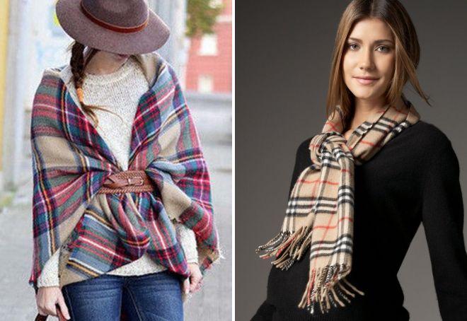 женские шарфы 24