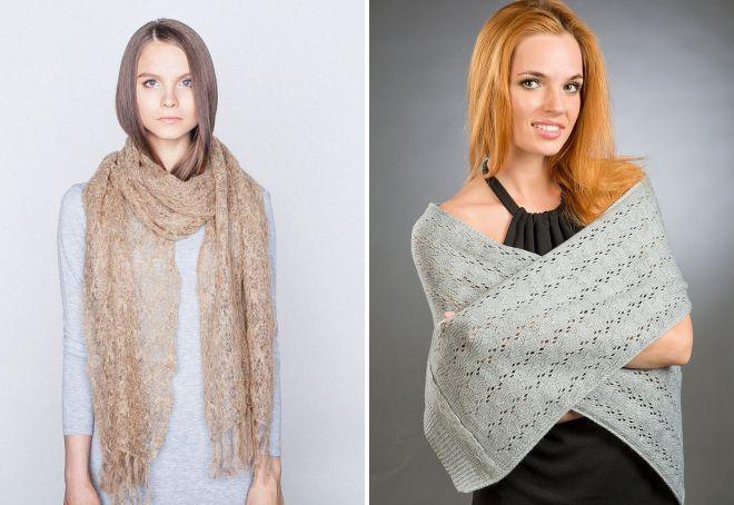 женские шарфы 25