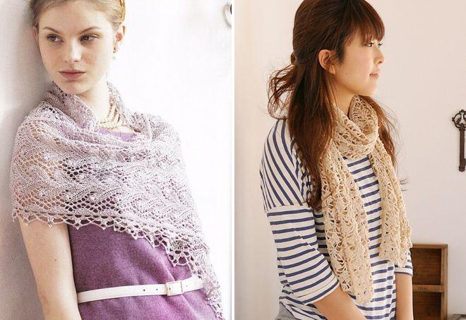 женские шарфы 26