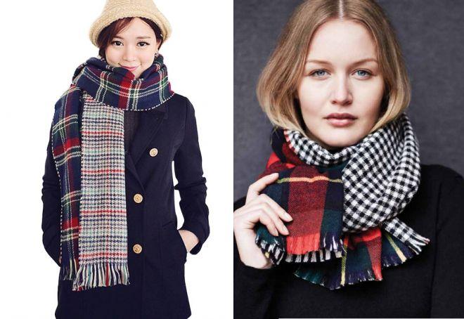 женские шарфы 27