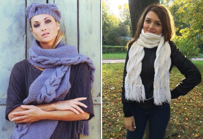 женские шарфы 5