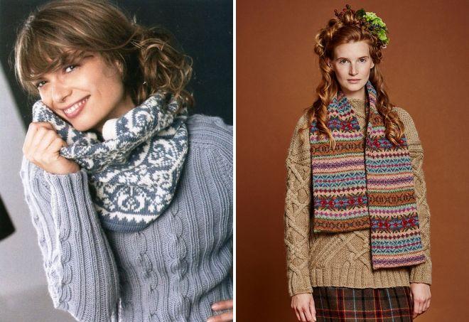 женские шарфы 6