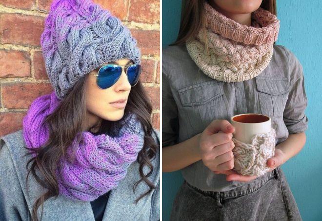 женские шарфы 7