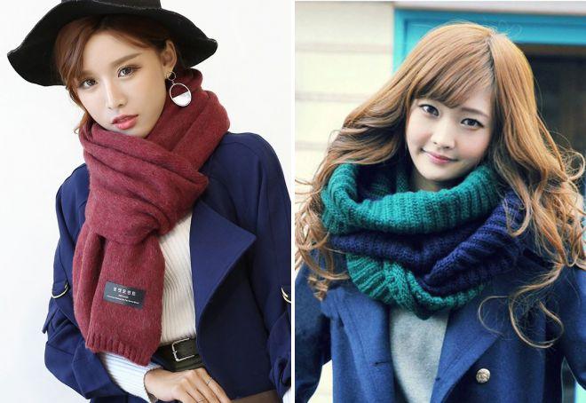 женские шарфы 9