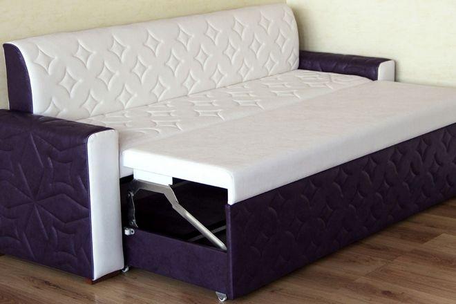 выдвижной диван со спальным местом